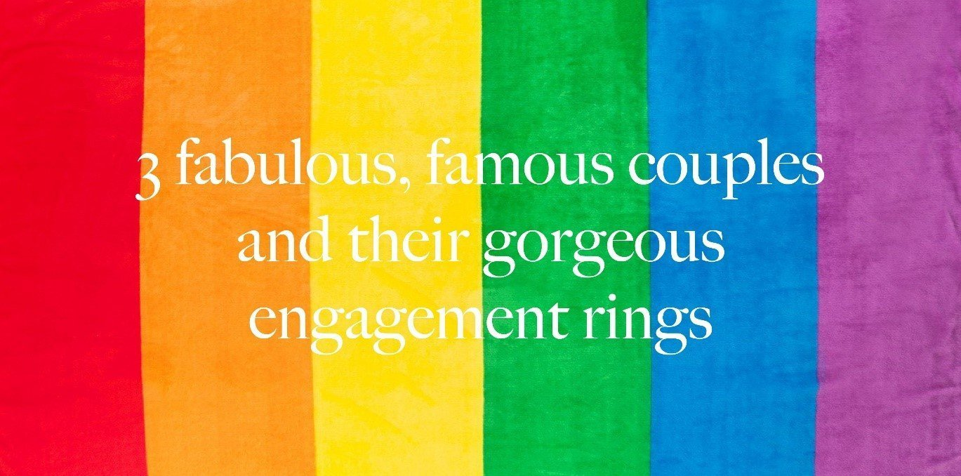 3 fabulous, famous couples and their gorgeous engagement rings