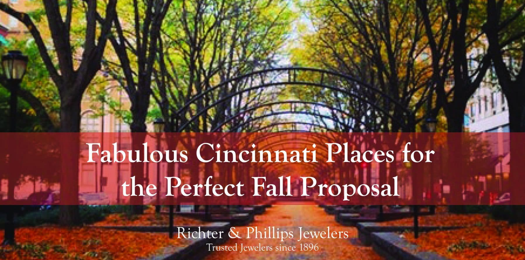 4 fabulous places for the perfect fall proposal