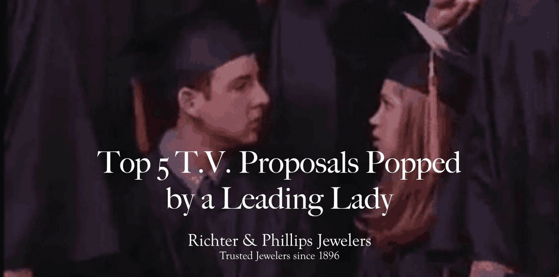 Top 5 Television Proposals Popped by a Leading Lady