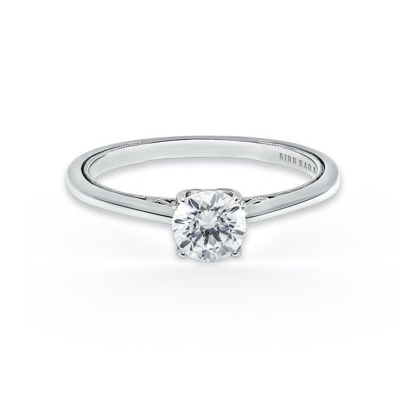 Kirk Kara Solitaire Engagement Ring