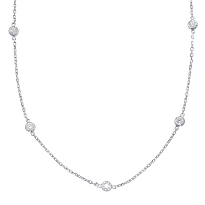 Diamond by the Yard Necklace (0.72-carat)