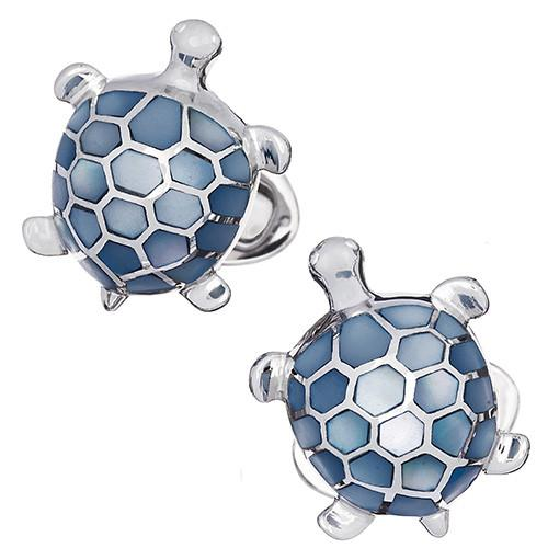 Gemstone Turtle Cufflinks