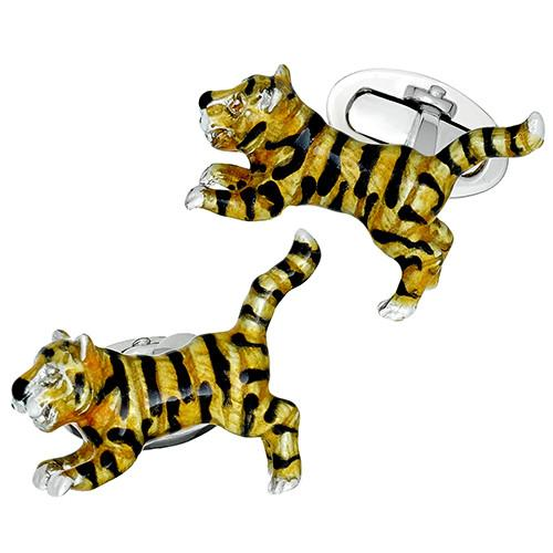 Leaping Tiger Cufflinks