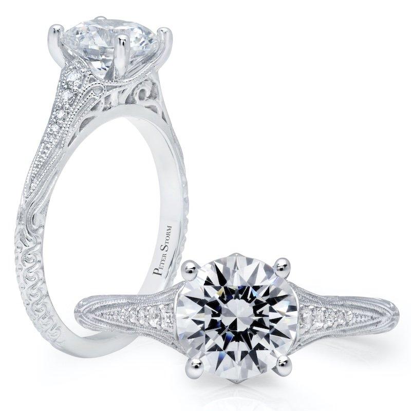 Peter Storm Diamond Engagement Ring