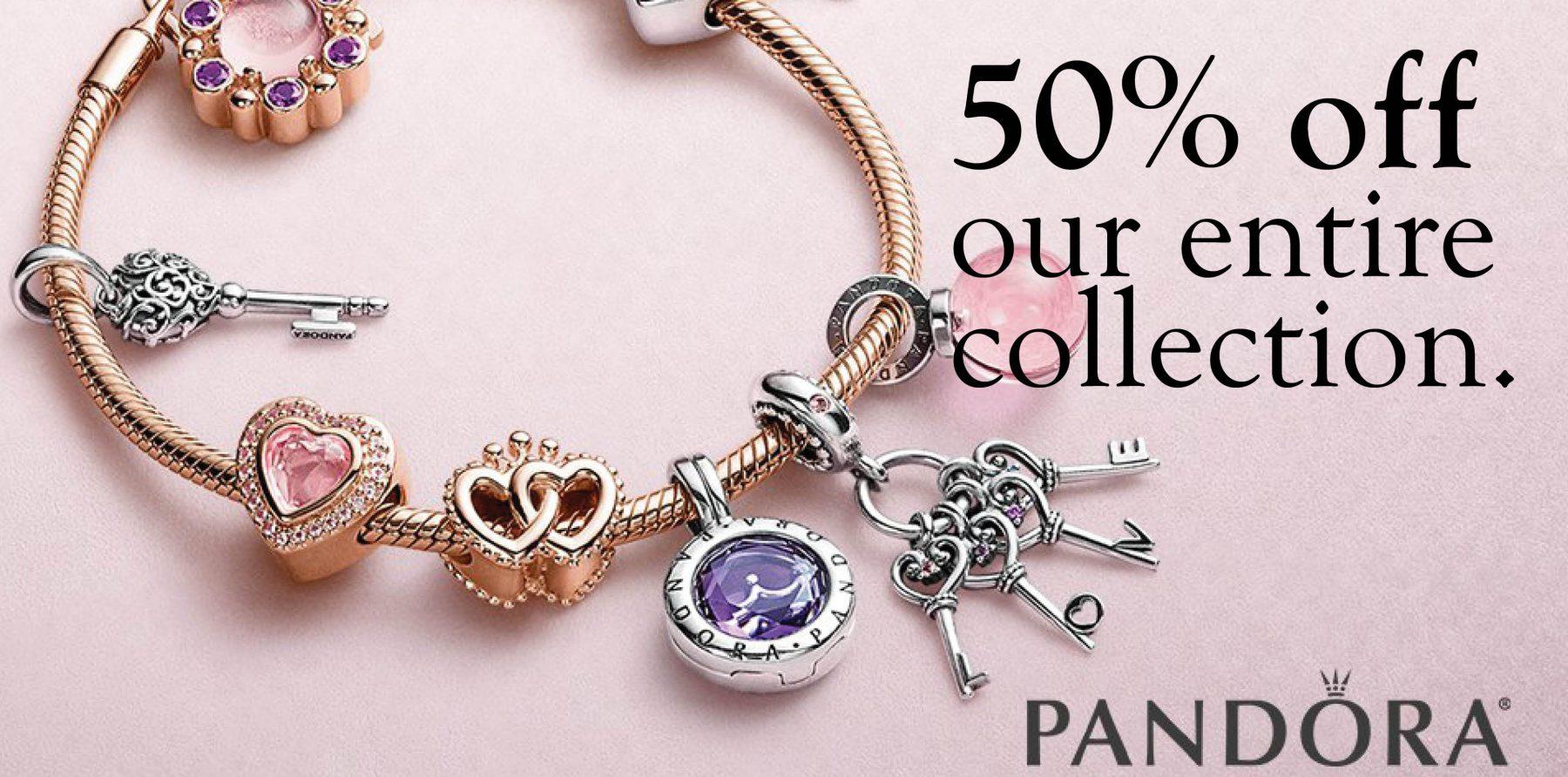 February Pandora Sale – 50% Off