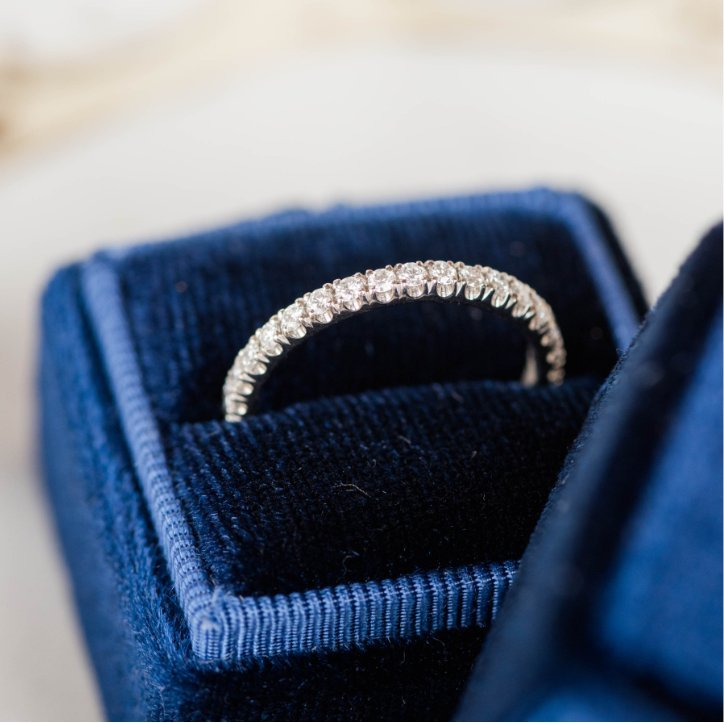 Wedding Band to Complement Engagement Ring