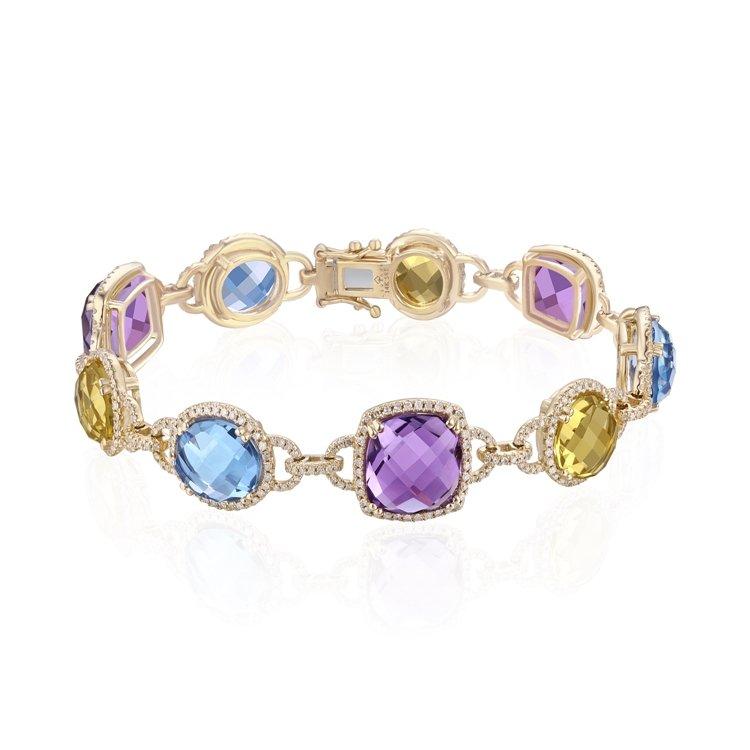 Diamond Multi-stone Bracelet