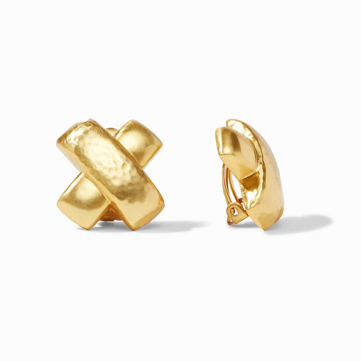 Catalina X Clip-On Earrings