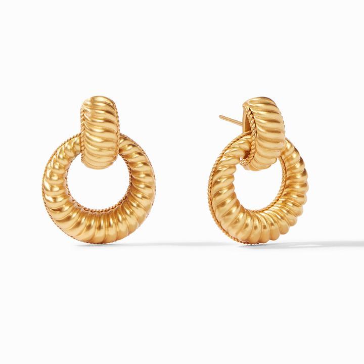 Olympia Doorknocker Earring