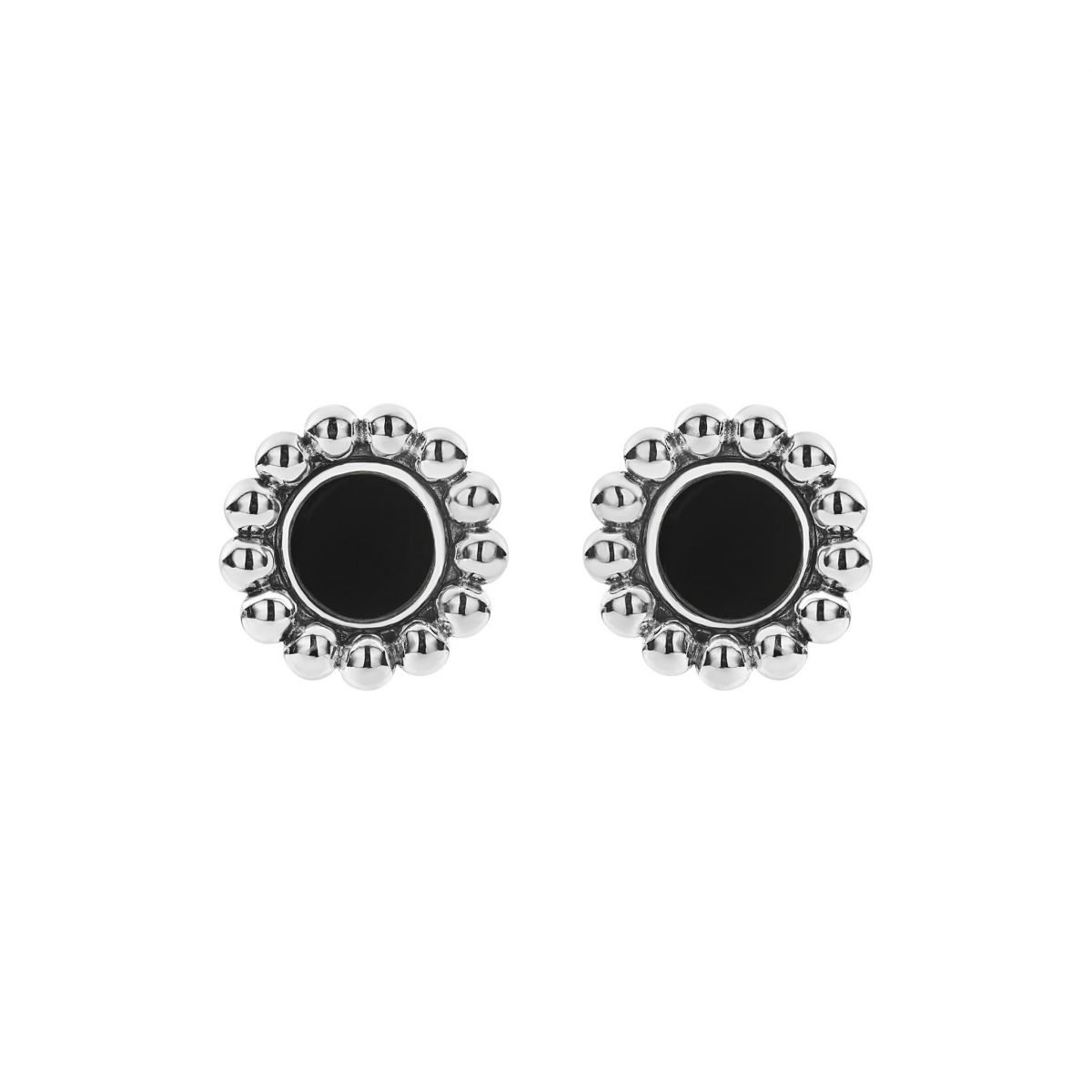 Maya Circle Stud Earrings