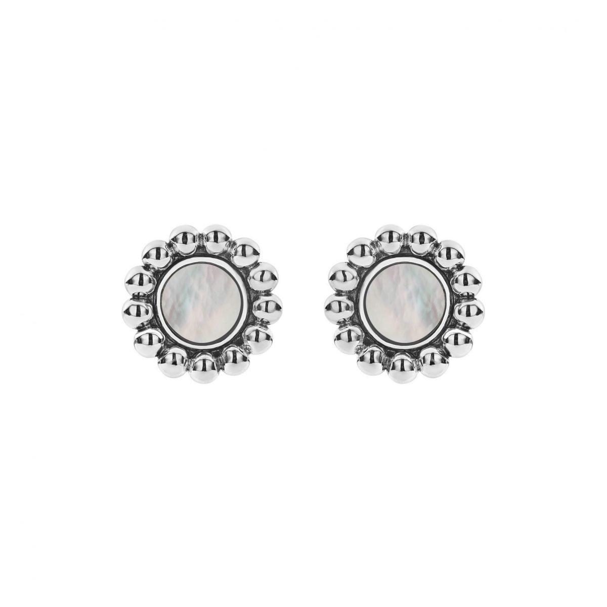 Maya Circle Stud Earrings