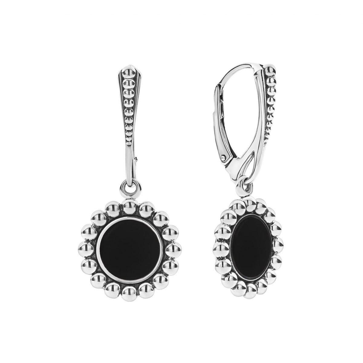 Maya Circle Drop Earrings