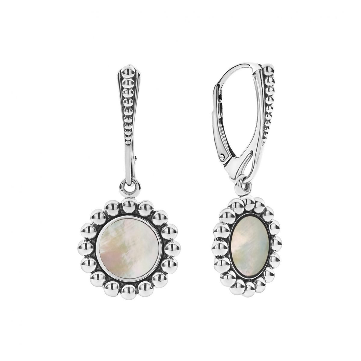Maya Circle Drop Earrings