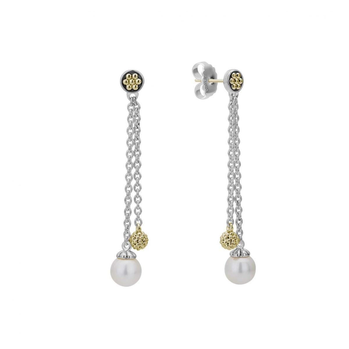 Luna Pearl Drop Earrings