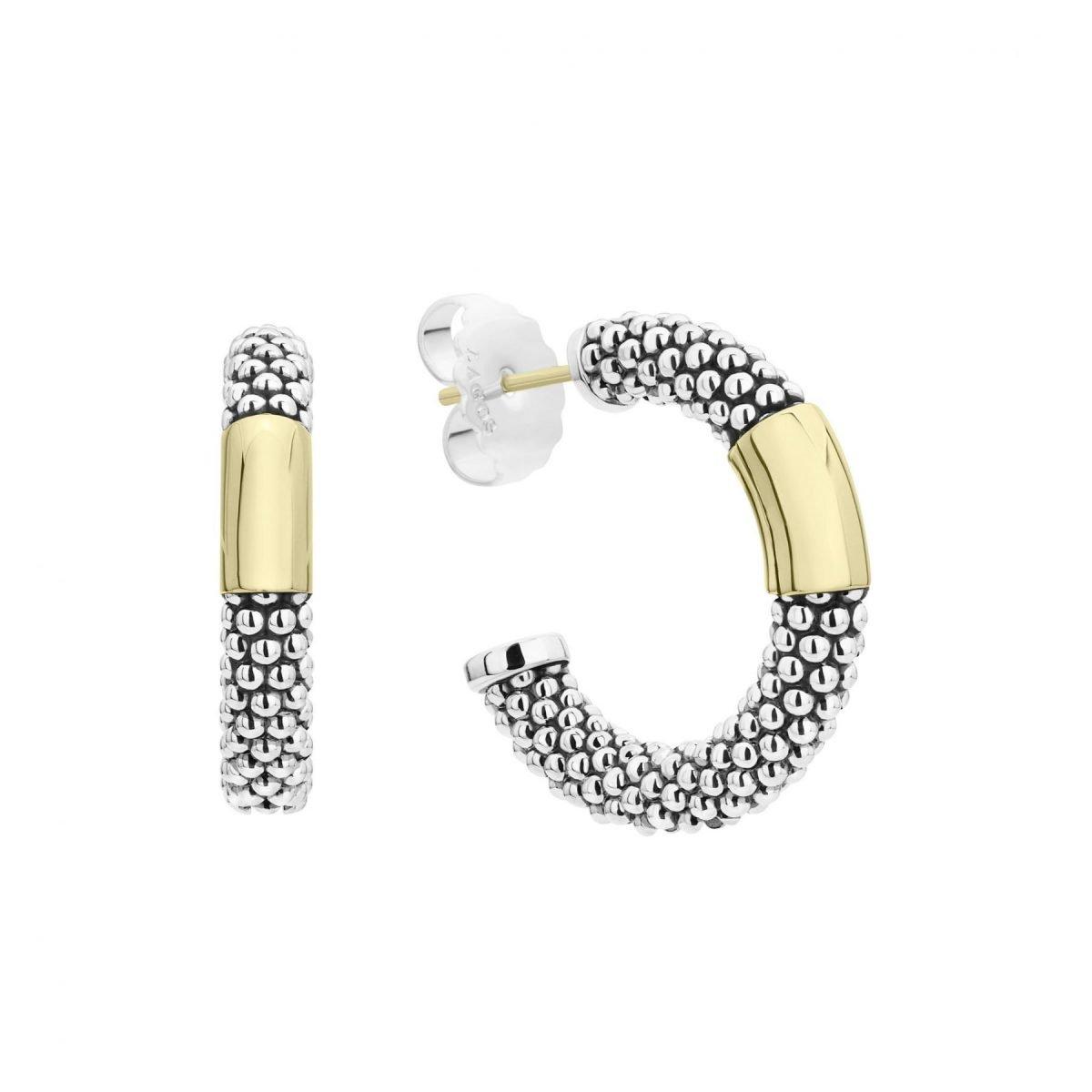 High Bar Hoop Earrings