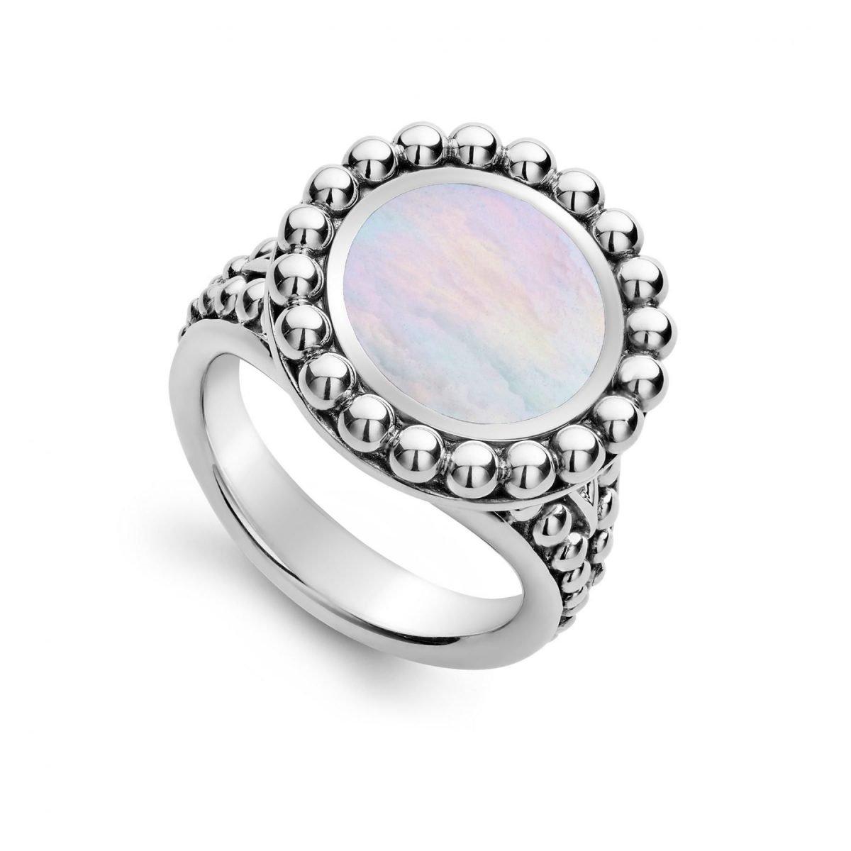 Maya Circle Ring