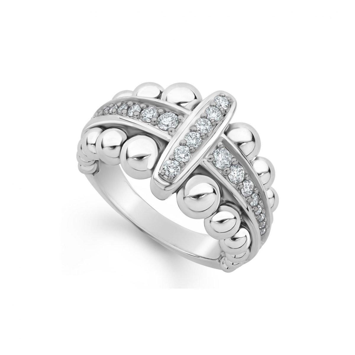 Caviar Spark Diamond Ring