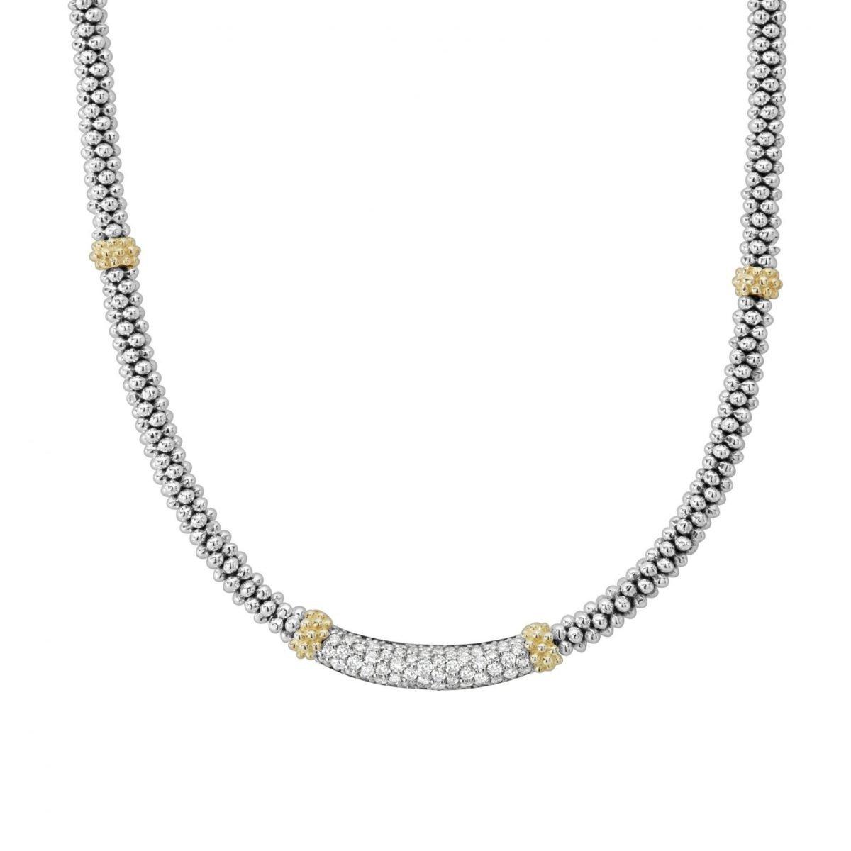 Caviar Lux Diamond Necklace