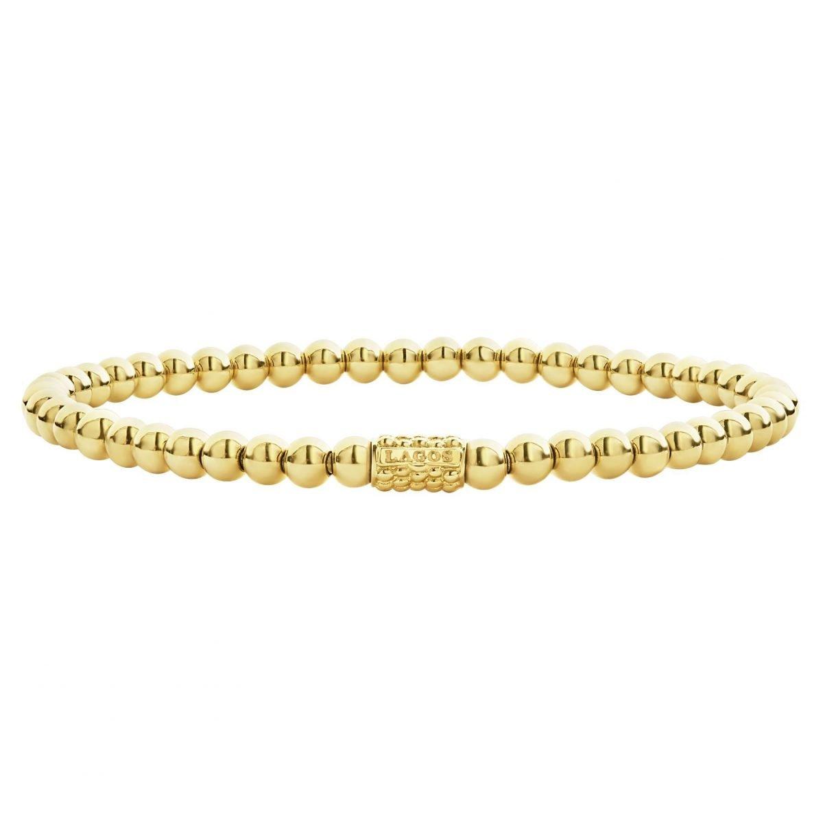 Caviar Gold Bracelet
