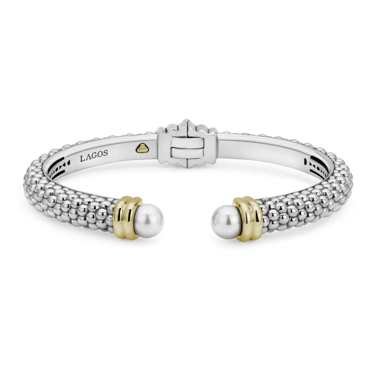 Luna Pearl Cuff Bracelet