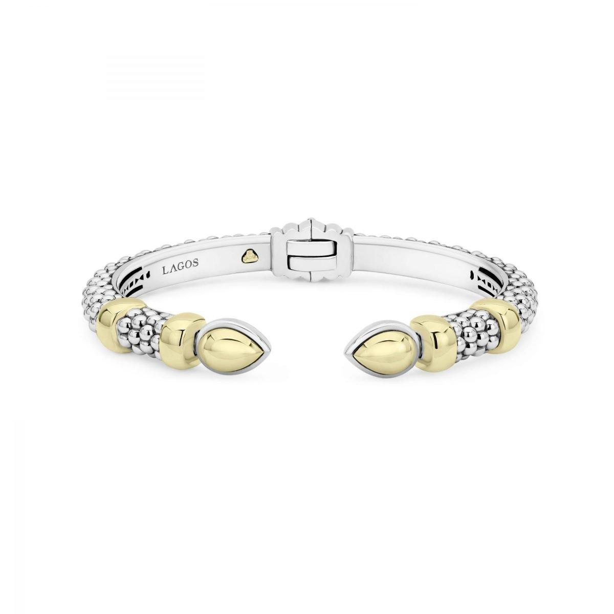 High Bar Gold Cuff Bracelet