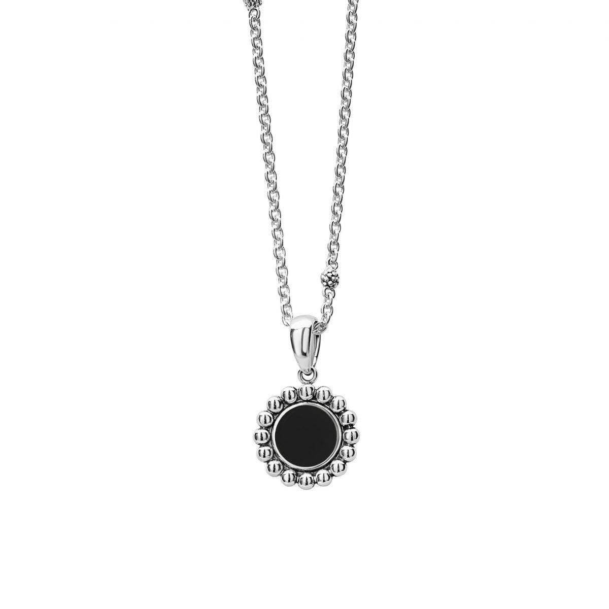Maya Circle Pendant Necklace