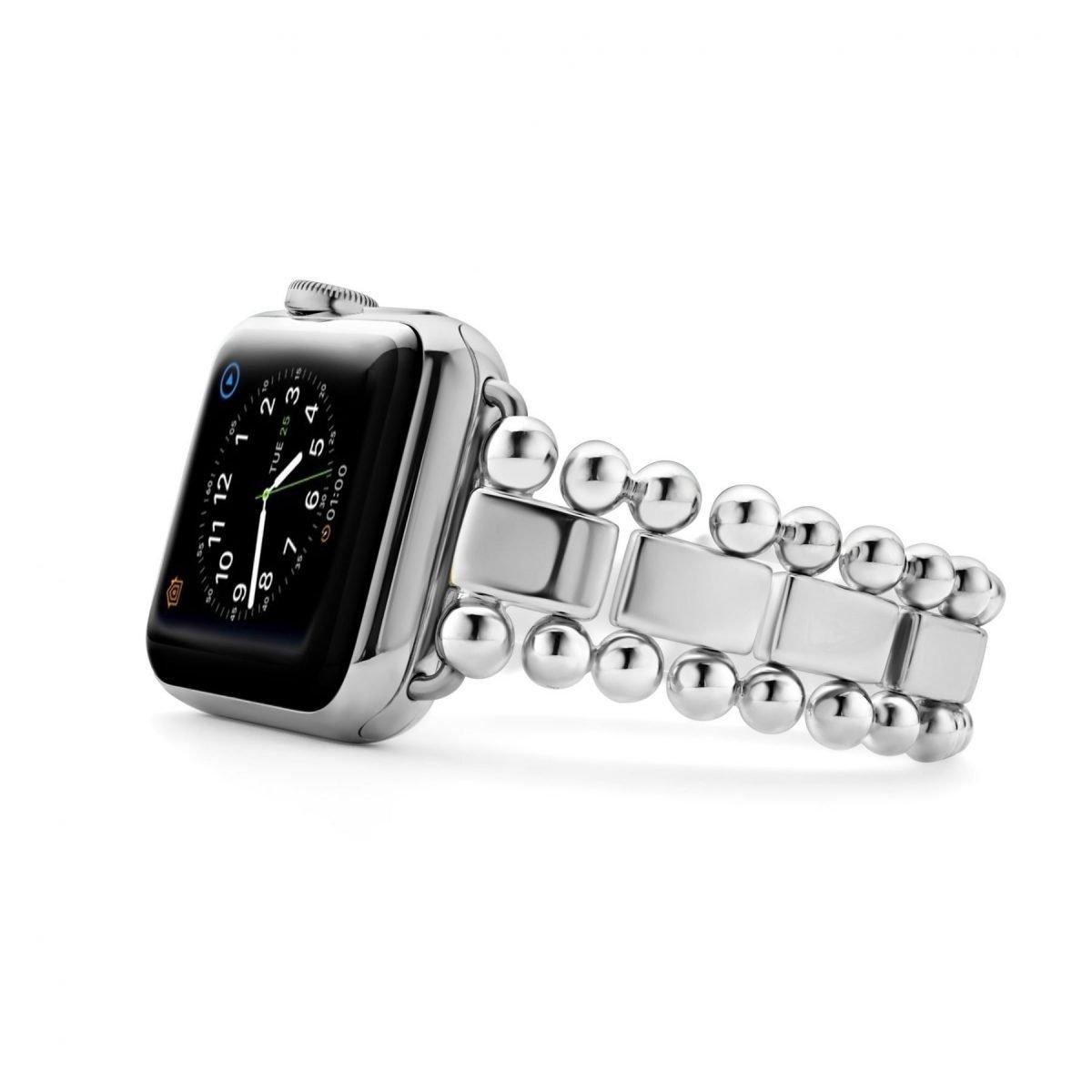 Smart Caviar Sterling Silver Watch Bracelet
