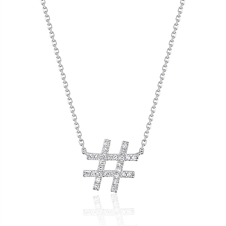 Diamond # Necklace