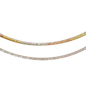 Chain – Tri-Color Gold / White Gold