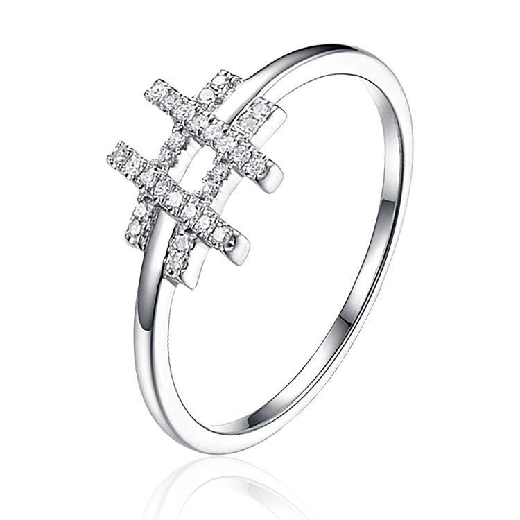 Diamond # Ring