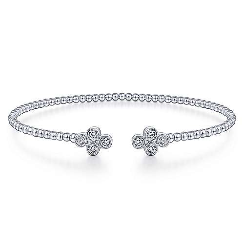 Diamond Split Cuff Bracelet