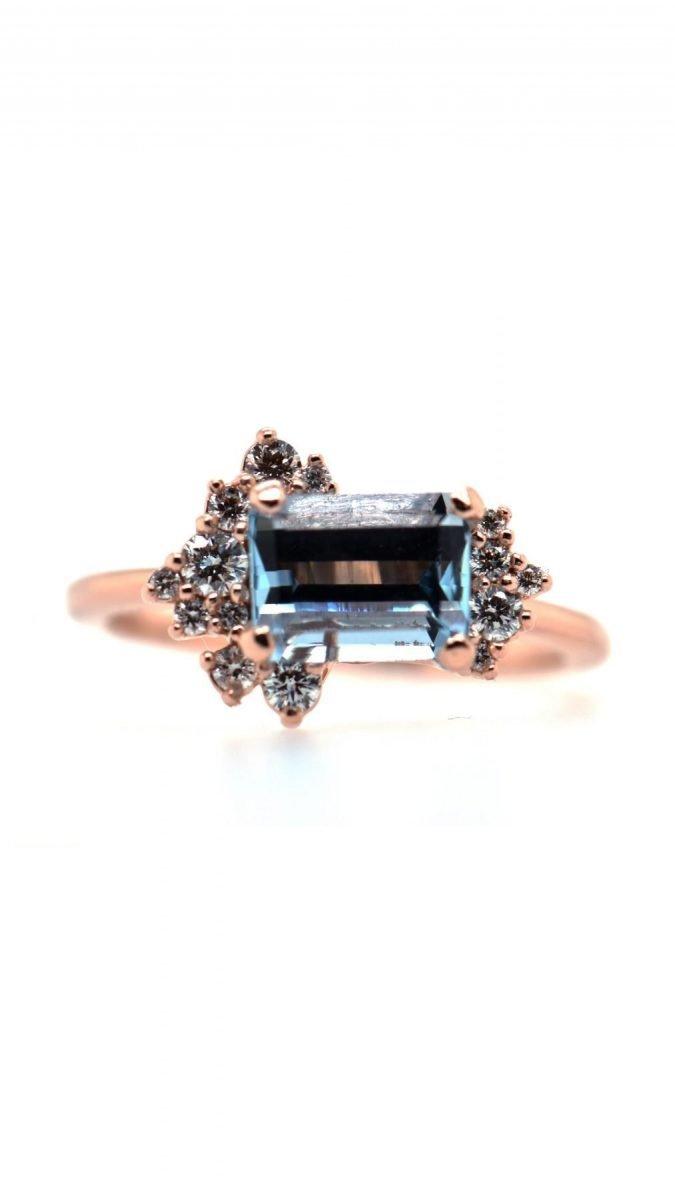 "Custom ""Lunar Reef"" Ring"