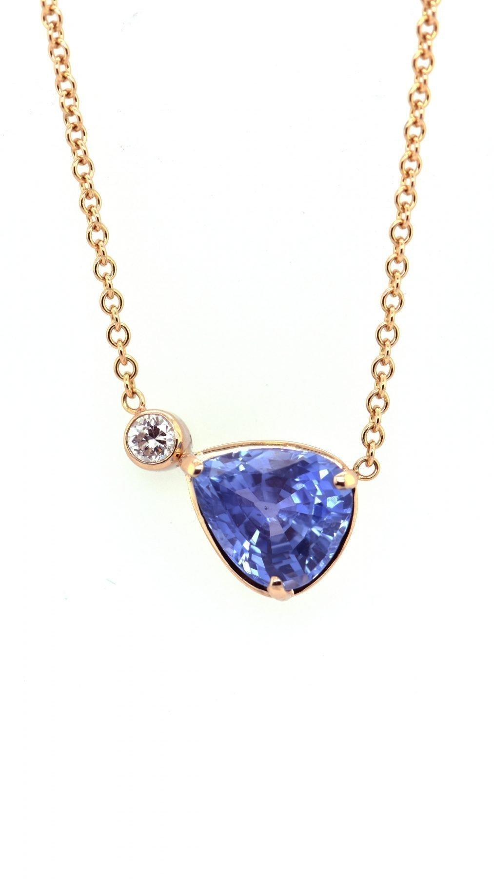 "Custom ""Sapphire Dreams"" Necklace"