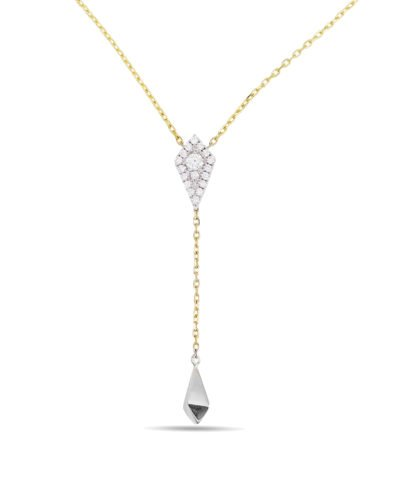 Diamond Lariat Pendant