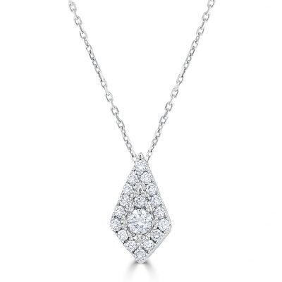 Diamond Kite Pendant