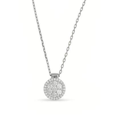 Frederic Sage Diamond Cluster Pendant