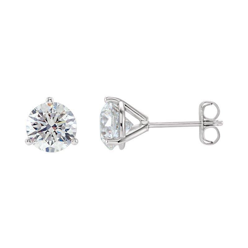 0.50-carat Diamond Studs