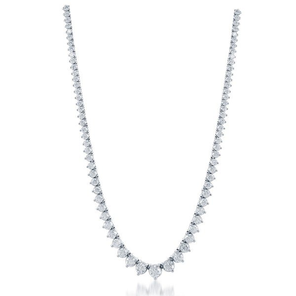 Graduated Diamond Riviera Necklace